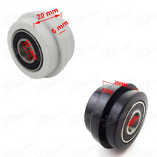 10mm Lip Chain Roller Pulley Tensioner For Chinese Motorcycle 50cc-190cc SDG SSR CRF 50 70 110 Atomik Thumpstar Pit Trail Dirt Bikes Pitbike Motard
