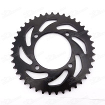 420 76mm 41T Rear Sprocket For 50cc-160cc SDG SSR Coolster Pit Dirt Trail Bikes Motorcycle Pitbike Motard