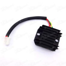 4 Wires Female Plug Voltage Regulator Rectifier Gy6 150cc 200cc 250cc ATV Dirt Bikes Moped Scooters Quad Motorcycle