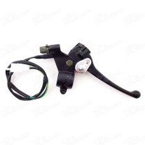 Motorcycle Dual Double Twin Brake Lever With Cable For 49cc 50cc 70cc 90cc 110cc ATV Quad