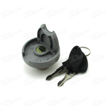 Gas Fuel Cap Cover With Lock Key For Metal Tank 50cc - 250cc ATV Quad Go Kart