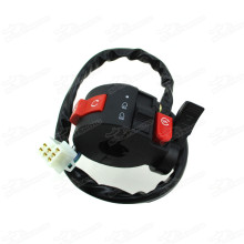 Control Kill Start Light Choke Switch Assy For 50cc 70cc 90cc 110cc 125cc ATV Quad Taotao Sunl Roketa