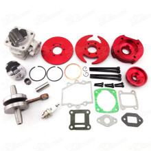 44mm Big Bore Kit Crankshaft Gasket Crankshaft Set For 47cc 49cc Mini Dirt ATV Pocket Bikes Quad Minimoto Cross