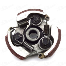 complete alloy clutch with pads and springs for 47 49cc gas minimoto pocket bike mini dirt bike crosser quad atv scooter moped
