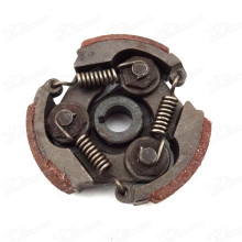 havey duty steel clutch with pads and springs for 47 49cc minimoto pocket bike mini dirt bike crosser quad atv