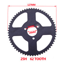 26mm ID 25H 62 Tooth Rear Sprocket For Chinese 47cc 49cc Mini Moto Pocket Bike