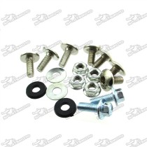 Fairing Screw Set Plastic Panel Bolts For Chinese CRF100 CRF 110 Pit Dirt Bike
