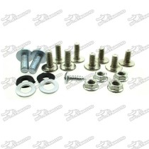Fairing Screw Set Plastic Panel Bolts For Chinese Pit Dirt Bike CRF70 Motorcycle