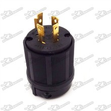 20A L14-20P 4 Prong Gas Gasoline Generator Locking Plug 125/250V UL Approval