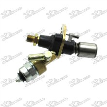 Fuel Pump With Solenoid For Chinese  Yanmar L100 186F 10HP Diesel Engine