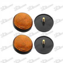 Vento Keeway Scooter Reflectors For QJ ZIP R3i 86300B20T001 Bike ATV Quad