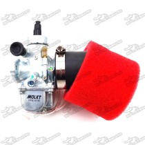 Molkt 26mm Carburetor Carb + 45mm Air Filter For 140cc 150cc 160cc Engine Chinese Pit Dirt Bike SSR Thumpstar TTR Pitster Pro YCF
