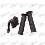 7/8'' 22mm Thumb Throttle Housing Accelerator Handle Grips Assembly For 125cc 150cc 200cc 250cc Chinese ATV Quad 4 Wheeler