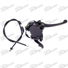 Alloy 7/8'' 22mm Thumb Throttle Cable Accelerator Handle Brake Lever Assembly For Chinese 50cc-125cc ATV Quad