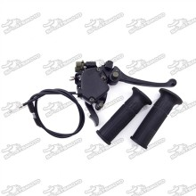 7/8'' 22mm Thumb Throttle Cable Handle Brake Lever Grips Accelerator For Chinese ATV Quad 50cc 70cc 90cc 110cc 125cc