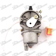 Carburetor Carb + Gas Fuel Filter For 2 Stroke 47cc 49cc Engine Chinese Mini Moto Kids ATV Quad 4 Wheeler Dirt Bike Pocket Bike