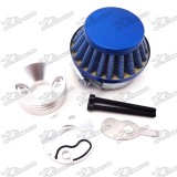 44mm Air Filter + Air Filter Adapter Stack For 2 Stroke 33cc 43cc 49cc Engine Big Foot Goped Blad Z Gas Scooter Xcooter Cobra Motovox