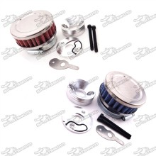 Goped 44mm Air Filter + Air Filter Adapter Stack For 2 Stroke Big Foot Blad Z Gas Scooter Xcooter Cobra Motovox 33cc 43cc 49cc