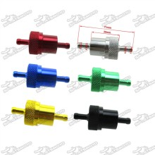 Aluminum Gas Fuel Filter For Motorcycle Go Kart ATV Quad Scooter Moped Buggy Pit Dirt Bike Snowmobile