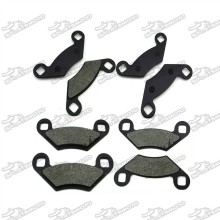 Rear Brake Pads For Polaris 550 850 XP EPS Sportsman 2009-2013 400 HO 2011-2013