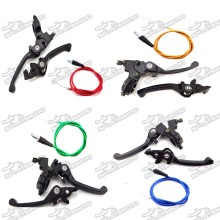 Handle Brake Clutch Lever Throttle Cable For Chinese 50cc 70cc 90cc 110cc 125cc 140cc 150cc 160cc Pit Dirt Motor Trail Bike