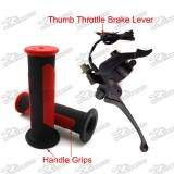 Thumb Throttle Brake Lever Durable Handle Grips For 50cc 70cc 90cc 110cc 125cc 150cc 200cc 250cc Chinese ATV Quad 4 Wheeler
