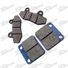 Front & Rear Brake Caliper Pads Shoes For 50cc - 160cc Chinese Motorcycle Pit Dirt Trail Motor Bike