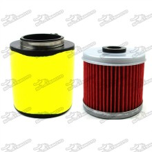 ATV Air Filter + Oil Cleaner For Quad Honda Fourtrax 300 TRX300 2x4 TRX300FW 4x4 1993 1994 1995 1996 1997 1998 1999 2000