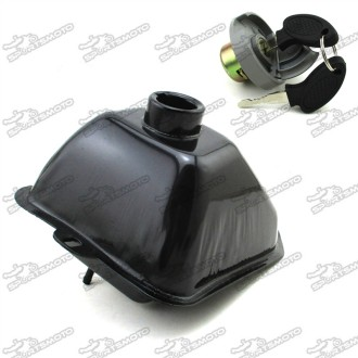 Metal Tank Gas Cap With Lock For Chinese 50cc 70cc 90cc 110cc 125cc Kids ATV Quad