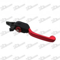 Red Black IGP Profile Pro Folding Front Brake Lever For Pit Dirt Bike Motorcycle WPB Orion M2R Atomik DHZ PitsterPro