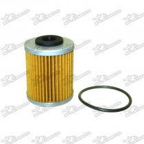 Short 2nd Oil Fuel Filter For KTM 400 450 520 525 560 660 690 Polaris Outlaw 450 MXR 525 IRS #2520755