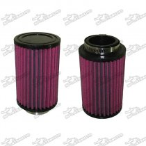 43mm Air Pod Filters For Yamaha Banshee YFZ 350 ATV 26mm Stock Carbs