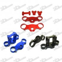 45/48-22mm CNC Aluminum Triple Clamp Set For Pit Dirt Bike Motorcycle  Motorcoss