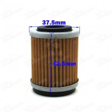 Oil Filter For Dirt Bike Motocross Enduro Engine YAMAHA YZ426F YZ250F YZ400F TTR250 WR426F WR400F WR250F ATV YFM350 YFM400 YFM350R YFP350 YFM400FW YFM350X YFM350FW YFM400 RAPTOR Quad Motor Filter Element Cleaner