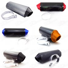 38mm Alloy Exhaust Muffler For 140cc 150cc 160cc 190cc CRF50 Thumpstar SSR Pit Dirt Trail Bike Pitbike Motard Enduro Motocross