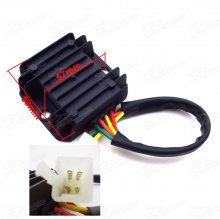 4 Wire Male Plug Voltage Regulator Rectifier For ATV Quad Scooter Moped Dirt Pit Bike Pitbike Motard