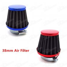38mm Air Filter Cleaner For 50cc 70cc 90cc 110cc 125cc Pit Dirt Bike ATV Quad Moped Scooter GY6 50cc QMB139 Motor Pitbike Motard