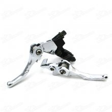 Folding Alloy Bi-fold Brake Clutch Levers Foldable Level For 50cc 70cc 90cc 110cc 125cc 140cc 150cc 160cc SDG SSR Taotao Roketa Coolster Chinese CRF XR KLX Pit Dirt Bikes