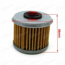 Oil Filter Cleaner For ATV Quad Engine Motor HONDA CRF150F CRF450X CRF250X CRF150R CRF250R CRF450R TRX450R TRX450ER CRF150RB Dirt Bike HUSQVARNA TE310 TE250 TC250 TE310R TC250R TXC250 TXC250R TXC310R Motocross