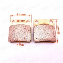 Rear Disc Brake Pads Caliper Shoes for 50cc-110cc 125cc 140cc 150cc 155cc 160cc 190cc SDG SSR Pit Dirt Bike Chinese Pitbike Motard CRF50 KLX Atomik Thumpstar Braaap MX Motorcycle