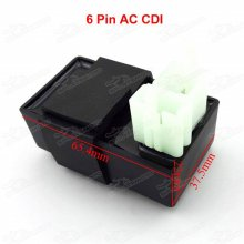 6 Pins AC CDI Ignition Box For 150cc-250cc ATV Quads & 50cc-160cc Pit Dirt Bikes MX Motorcycle Motocross Trail Bike Pitbike