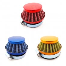 58mm Air Filter For Gas Motorized Bicycle Mini Moto Pocket Bike Honda Yamaha Suzuki Kawasaki Motorcycle