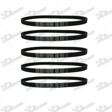 3M-384-12 Transfer Drive Belt For Electric E-Bike Scooter Pulse Charger City Skull