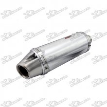 32mm Racing Exhaust T4 Muffler For Pit Dirt Bike Mini Motocross 150cc 160cc