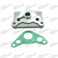 Engine Cover Oil Cooler Adapter Plate For 125cc 140cc Pit Dirt Bike Motorcycle Motorcoss