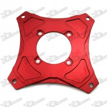 CNC Aluminum Red Wheel Rim Plate Adapter For Honda Dax Mini Trail Motor Monkey Bike Z50