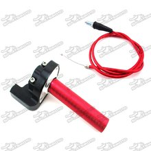 Red Twsit Handle Throttle Cable For Pit Dirt Trail Motor Bike XR50 CRF50 KLX110 SSR Thumpstar Lifan TTR YZF DHZ SDG