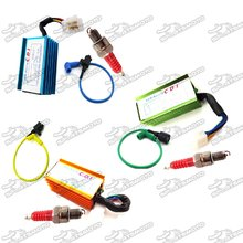 Racing Ignition Coil +  5 Pin AC CDI + A7TC Spark Plug For 50cc 70cc 90cc 110cc 125cc 140cc 150cc Pit Dirt Bike Motorcycle