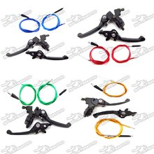 Brake Handle Lever Cluth Throttle Cable For Chinese Pit Dirt Bike TTR XR50 CRF50 Thumpstar SSR 90cc 110cc 125cc 150cc 160cc