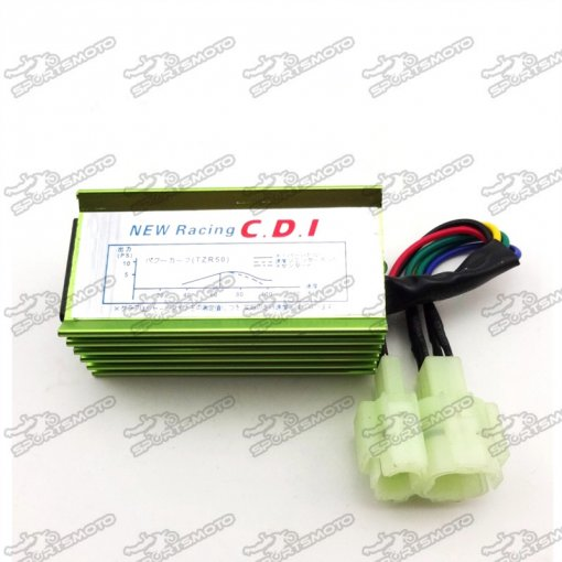 Racing 6 Pin AC Ignition CDI Box For GY6 50cc 70 90cc 110cc 125cc 150cc Engine Chinese Moped ATV Quad Buggy Scooter